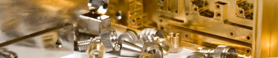 Entreprise de revêtement de surface or-nickel pour pièces industrielles